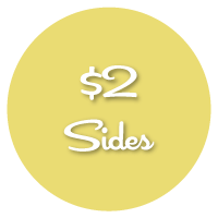 $2 sides from Ms Roses