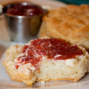From Scratch Biscuits & Jam