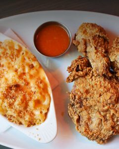Fried Chicken & Mac and Cheese