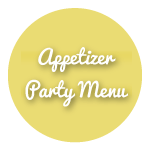 Appetizer Party Menu Icon