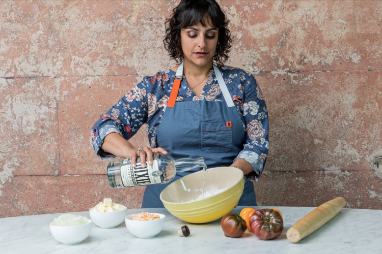 Amanee Neirouz, operations manager at Ms. Rose's Fine Food & Cocktails